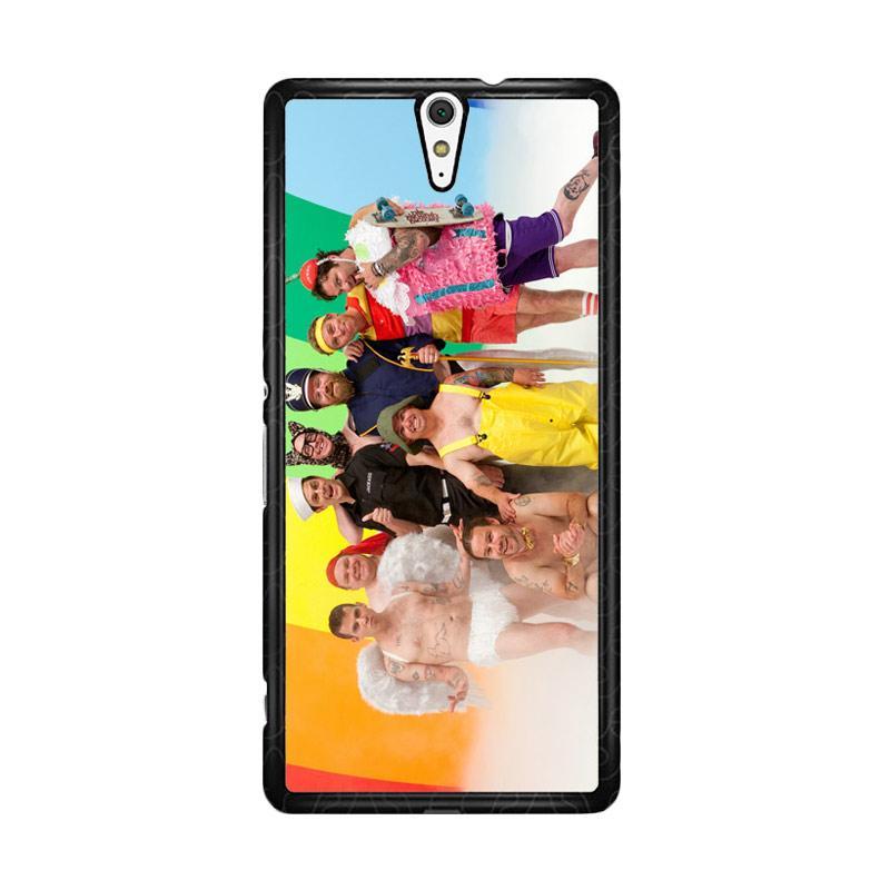 Flazzstore Jackass Crew Z1071 Custom Casing for Sony Xperia C5 Ultra