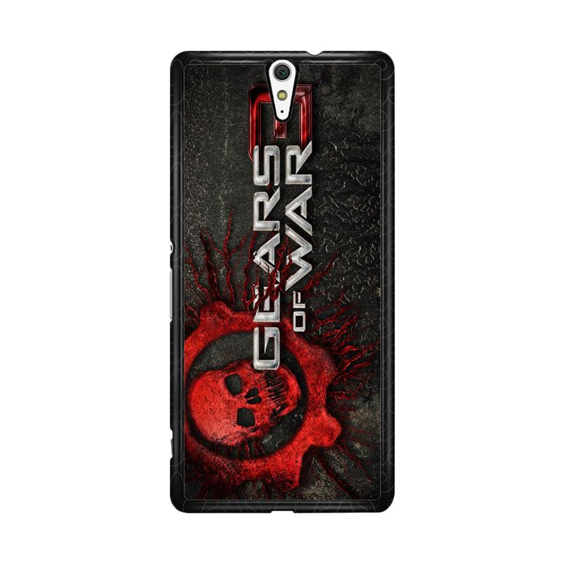 Flazzstore Gears Of War 3 Logo Z1251 Custom Casing for Sony Xperia C5 Ultra