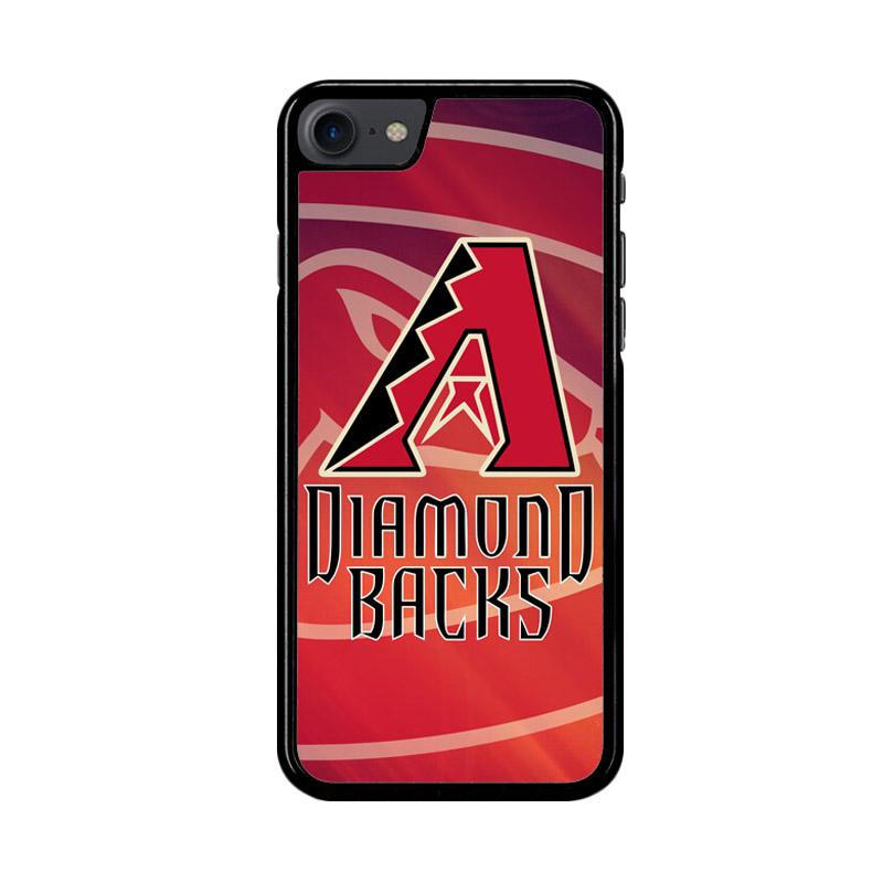 Flazzstore Diamondback Baseball Z3252 Custom Casing for iPhone 7 or 8