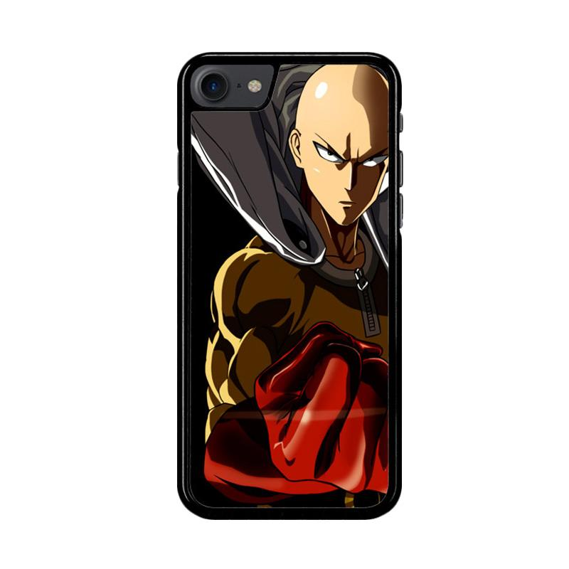 Flazzstore One Punch Man Saitama Z3714 Custom Casing for iPhone 7 or 8