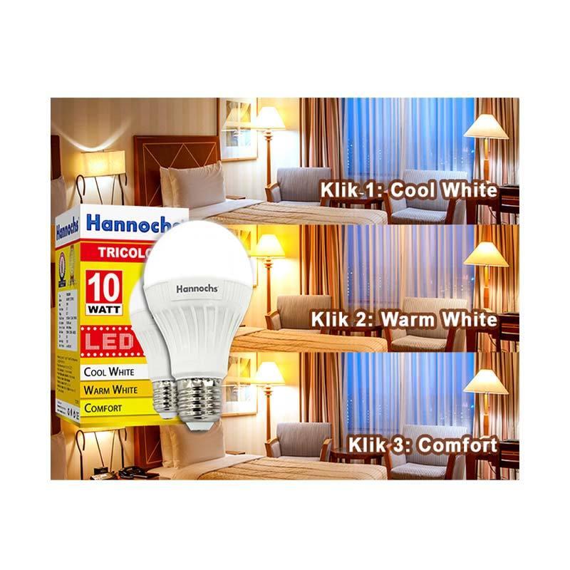 Jual Hannochs Tricolour Lampu Led 10 Watt Online November 2020 Blibli Com