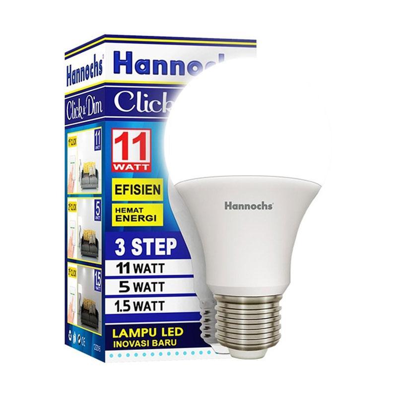 Hannochs Click & Dim Lampu LED [11 Watt]