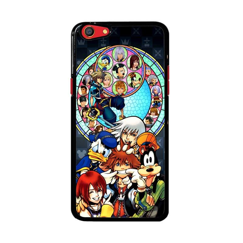 Flazzstore Kingdom Hearts Z3294 Custom Casing for Oppo F3