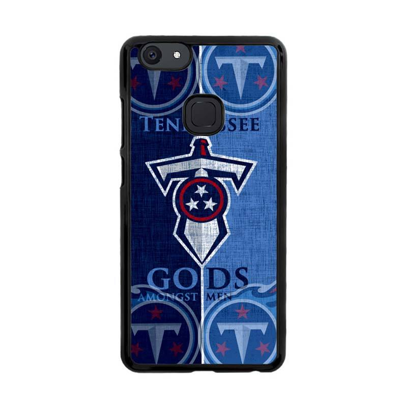 Flazzstore Tennessee Titans Logo Z3008 Custom Casing for VIVO V7 Plus