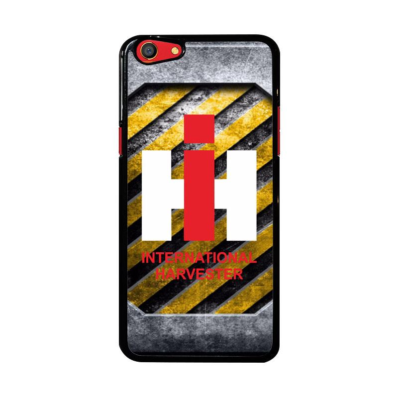 Flazzstore Harvesters Ih Tractor Logo Z3869 Custom Casing for Oppo F3