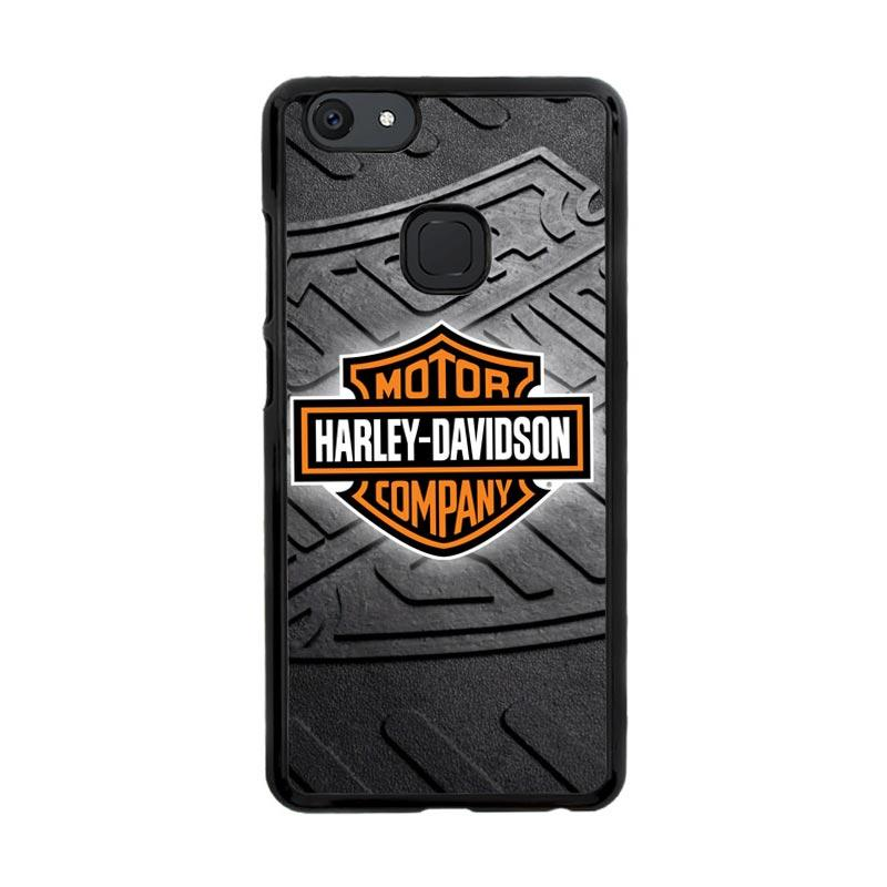 Flazzstore Harley Davidson Logo Z3250 Custom Casing for Vivo V7 Plus