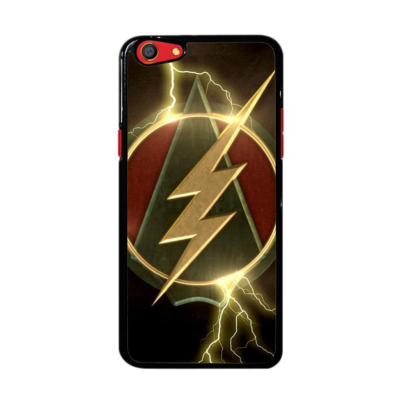 Flazzstore The Flash Arrow Logo Z4321 Custom Casing for Oppo F3