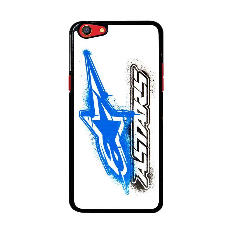 Flazzstore Alpinestars Blue White Z4748 Custom Casing for Oppo F3