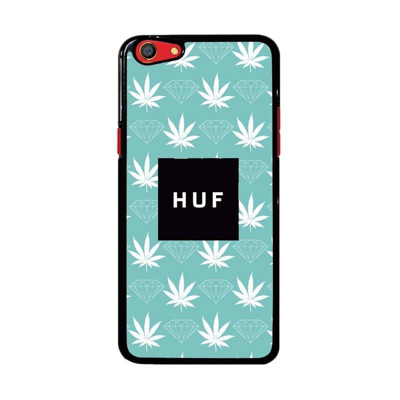Flazzstore Weed Diamons Huf Logo Z4935 Custom Casing for Oppo F3