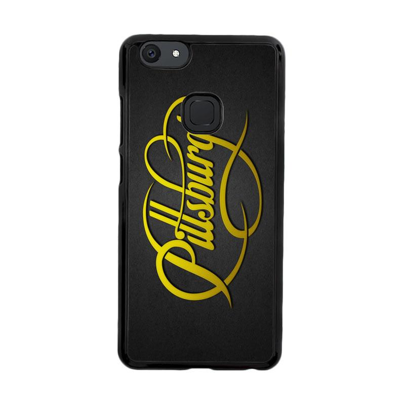 Flazzstore Pittsburgh Steelers Logo Font Z4880 Custom Casing for Vivo V7 Plus