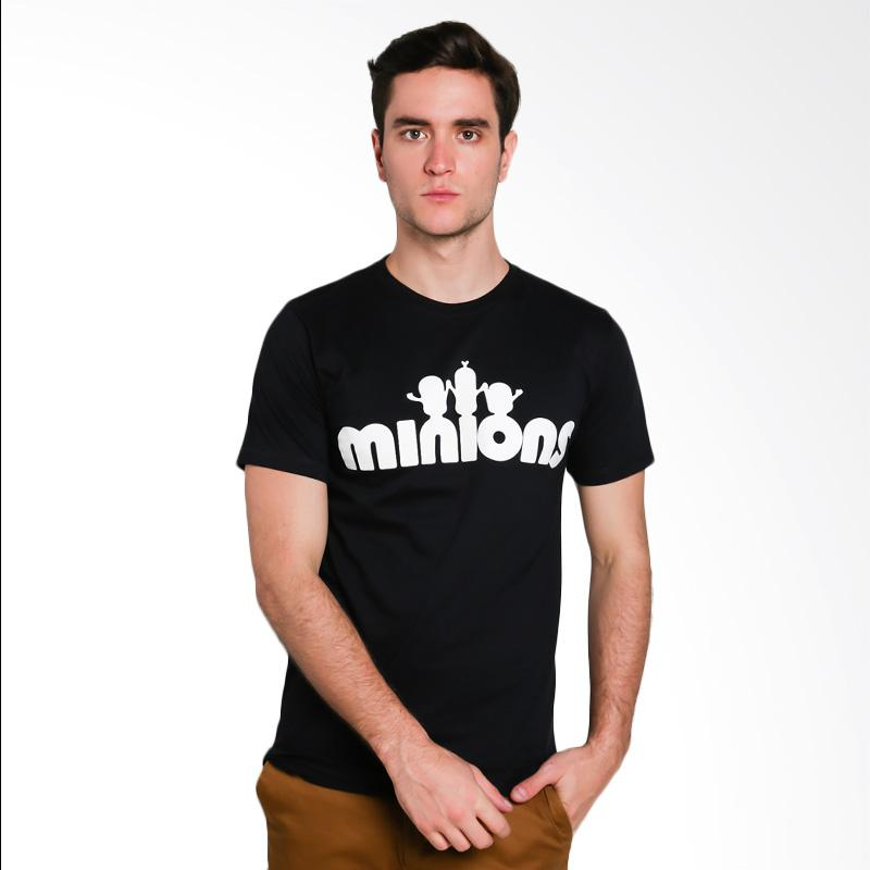 Hypestore Minions T-Shirt Pria - Black [3267-7503]