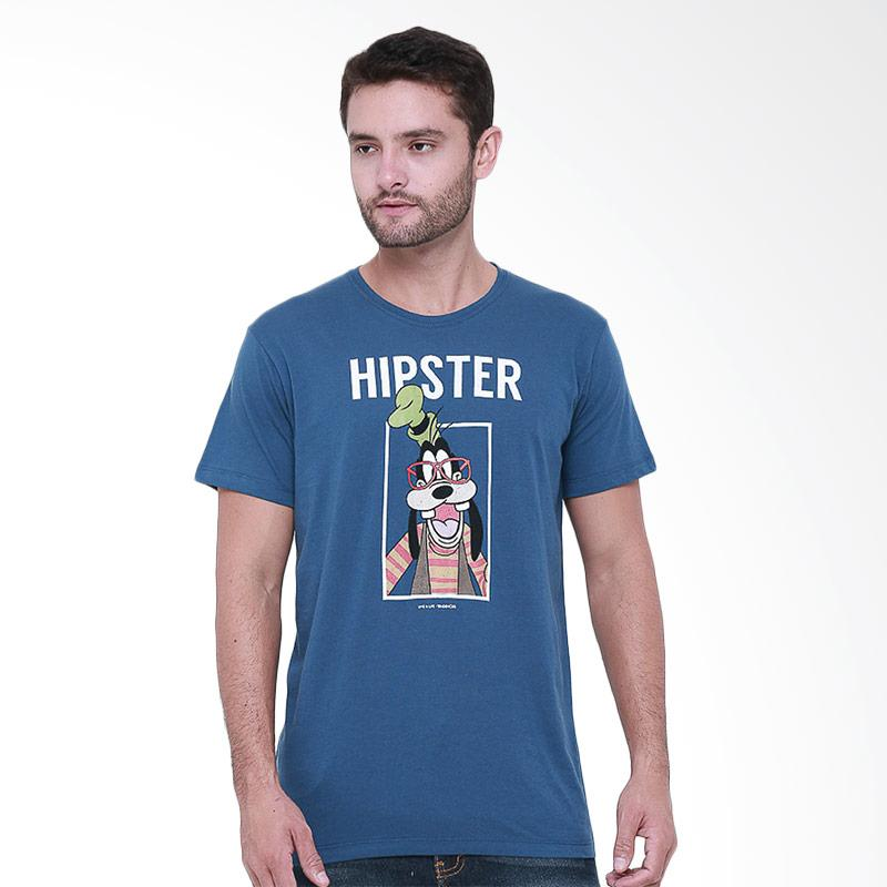 Tendencies TND-HIPSTER T-Shirt Pria - Blue