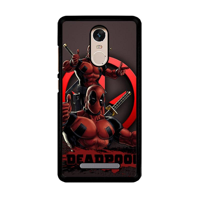 Flazzstore Deadpool Z2663 Custom Casing for Xiaomi Redmi Note 3 or Note 3 Pro