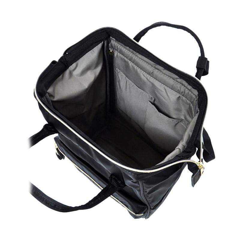 Jual Anello Backpack Rucksack Mini Size AT-B1492 High Density Nylon - Black  Online - Harga   Kualitas Terjamin  260f8ab62e
