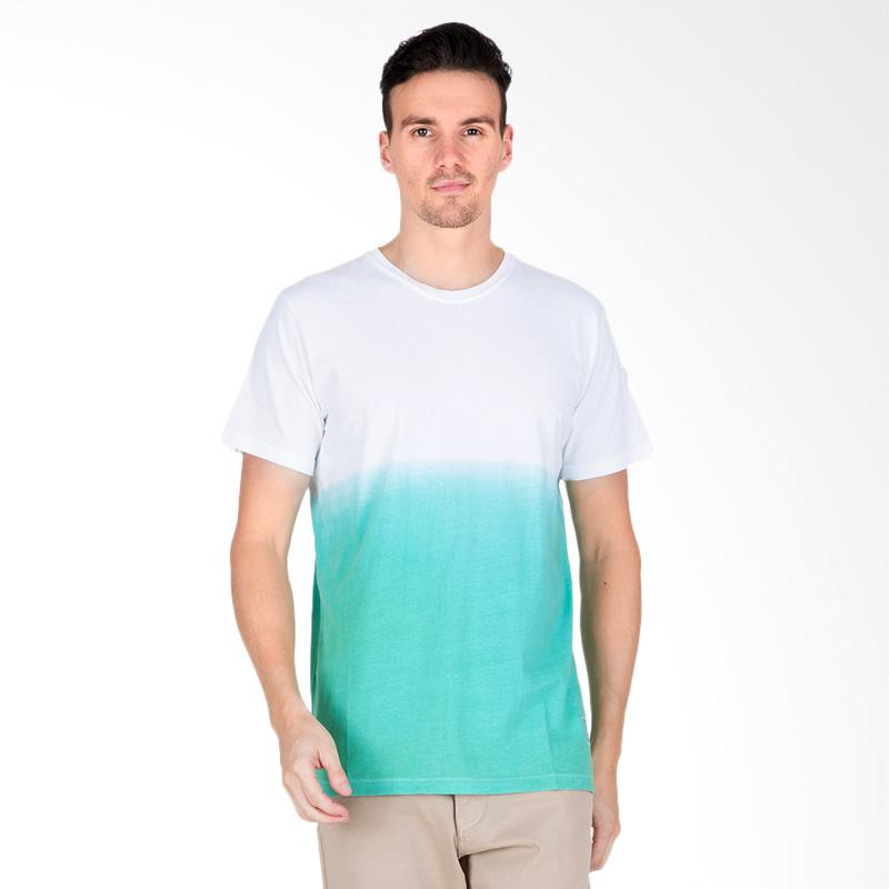 Tendencies DIP DYE T-shirt Pria - Green