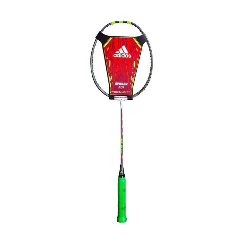 Adidas New Spieler A 09 SMU Raket Badminton - White Black