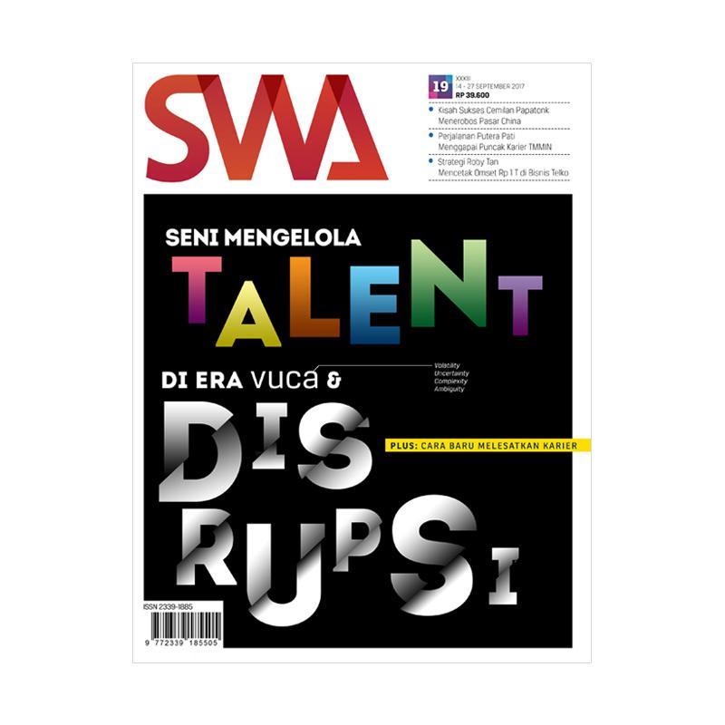 SWA Edisi 192017 Seni Mengelola Talent Majalah Bisnis