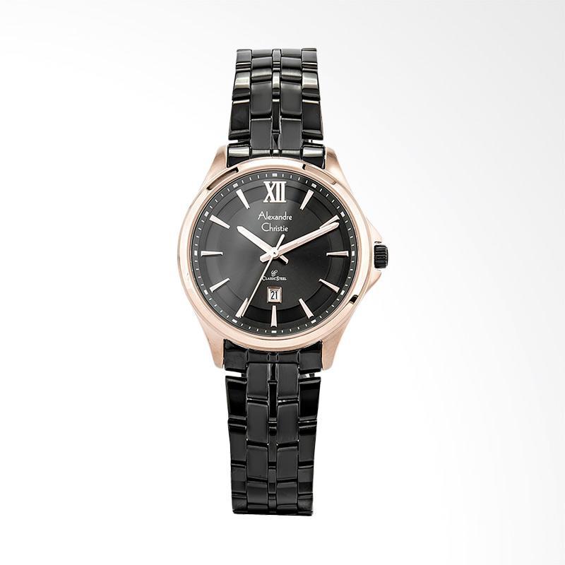 Alexandre Christie Classic AC 8530 LD BBRBA Jam Tangan Wanita - Black