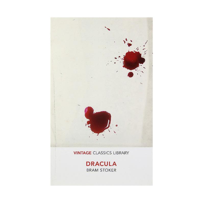 Vintage Classics Dracula by Bram Stoker Buku Fiksi