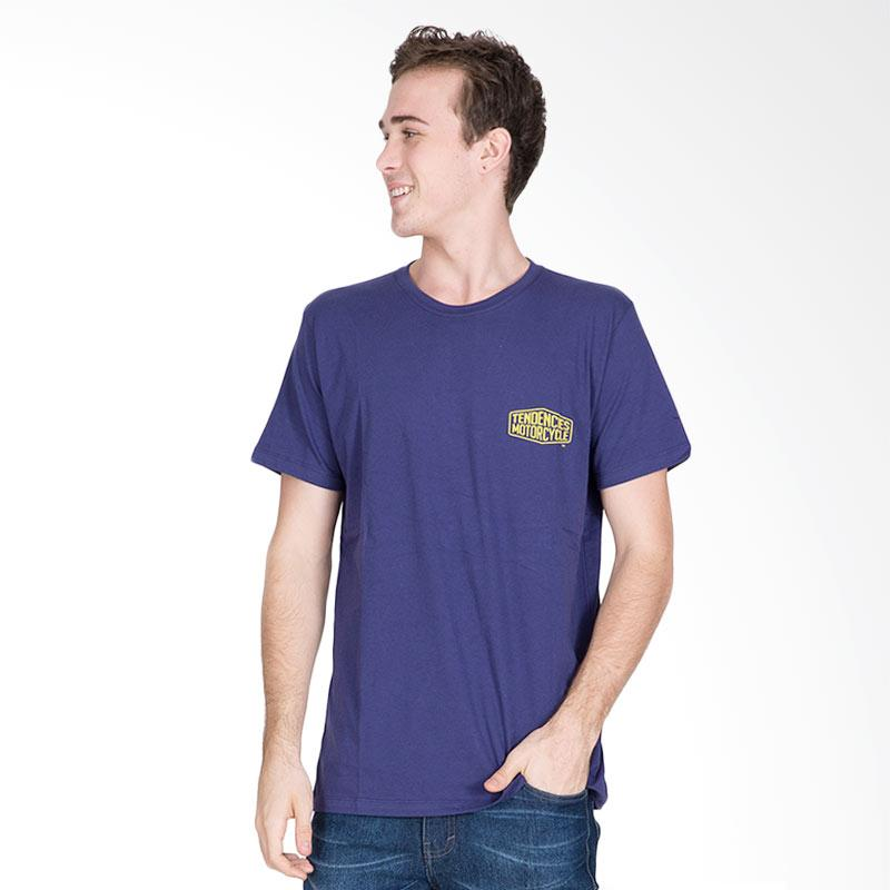 Tendencies Forever Wheels T-Shirt Pria - Navy