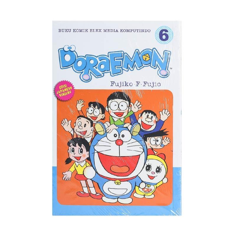 Elex Media Komputindo Doraemon 06 200519277 by Fujiko F. Fujio Buku Komik [Terbit Ulang]