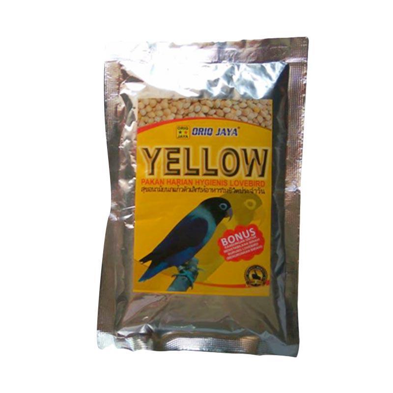 harga ORIQ JAYA Pakan Burung Lovebird Milet Yellow Blibli.com