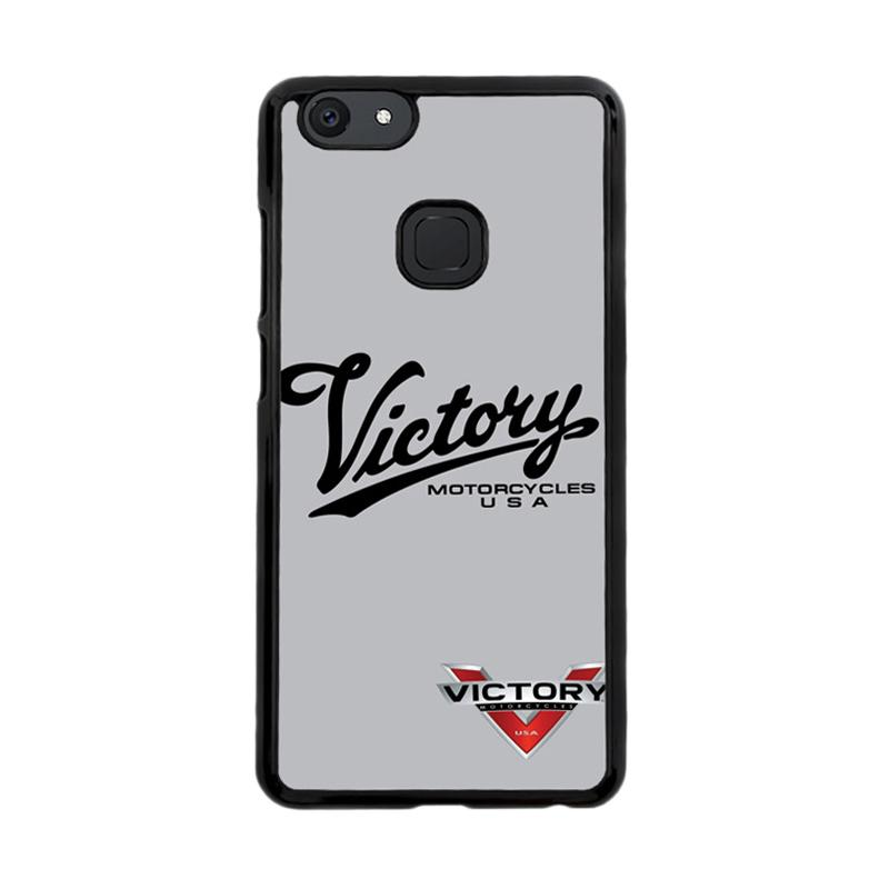 Flazzstore Victory Motorcycles Logo Z3878 Custom Casing for Vivo V7