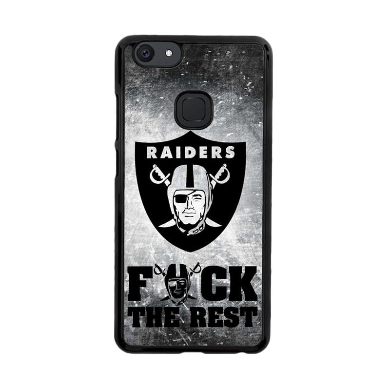 Flazzstore Oakland Raiders Logo Z4803 Custom Casing for Vivo V7
