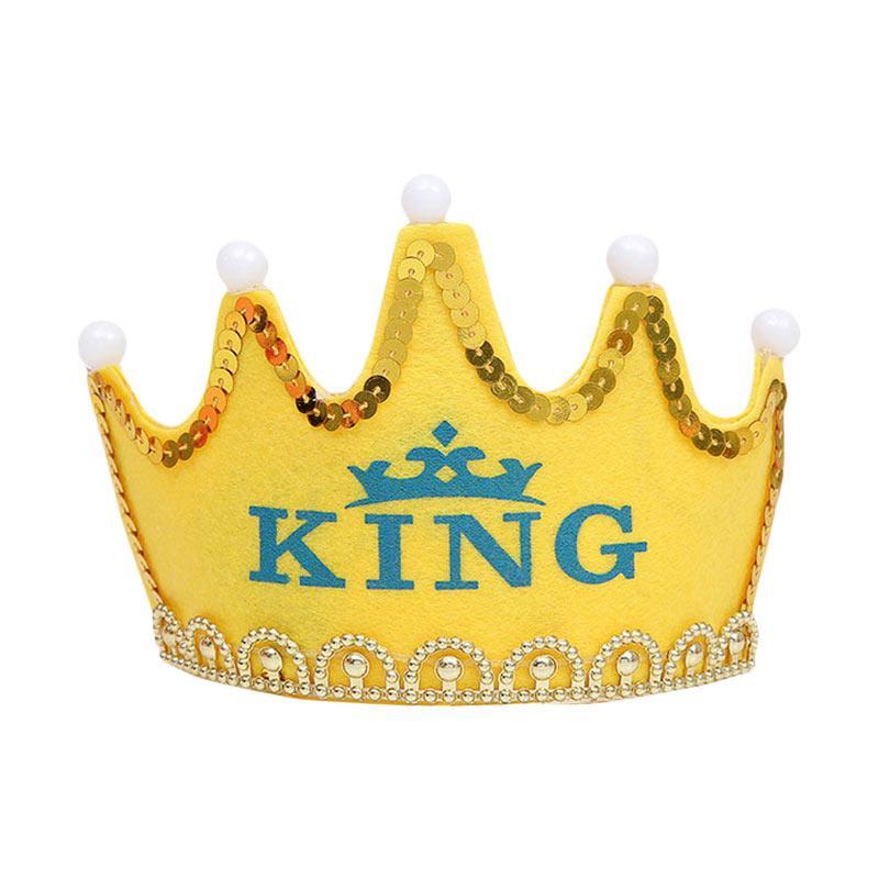 Jual Johnboss Mahkota LED King Perlengkapan Pesta Online Oktober 2020 |  Blibli.com
