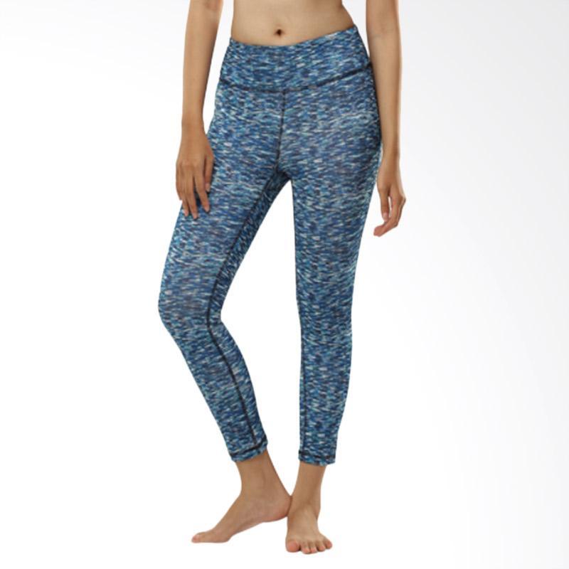 N.Y.L Active Bl Sport Misty Capri 7/8 Celana Olahraga Wanita - Blue [08NYL200011]