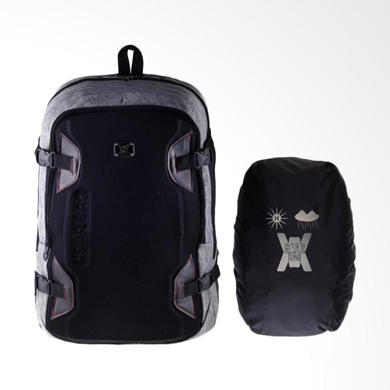 Kelebihan Kekurangan Gear Bag Radiant Backpack - Grey + Free Raincover Dan Harganya
