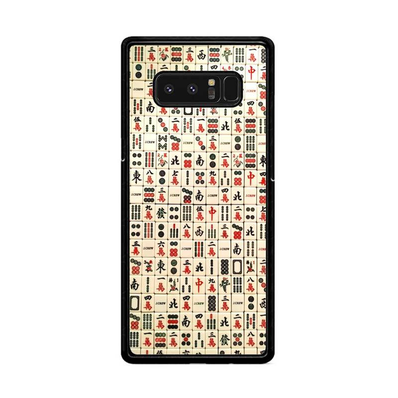 harga Flazzstore Mahjong Y2167 Custom Casing for Samsung Galaxy Note 8 Blibli.com