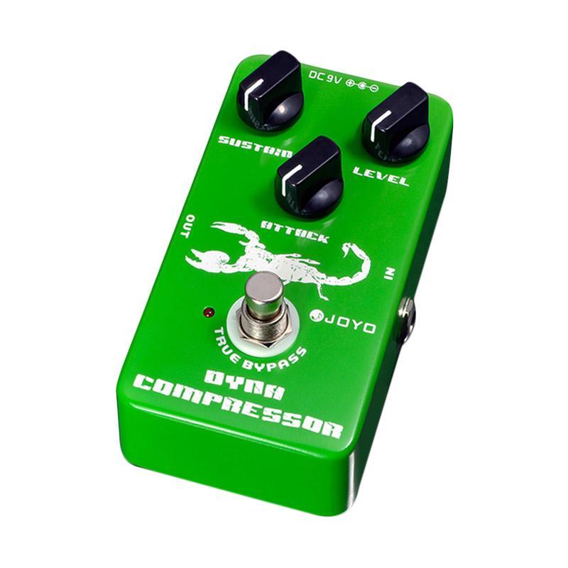 harga JOYO JF-10 Dinamis Kompresor Pedal Efek Gitar - Green Blibli.com