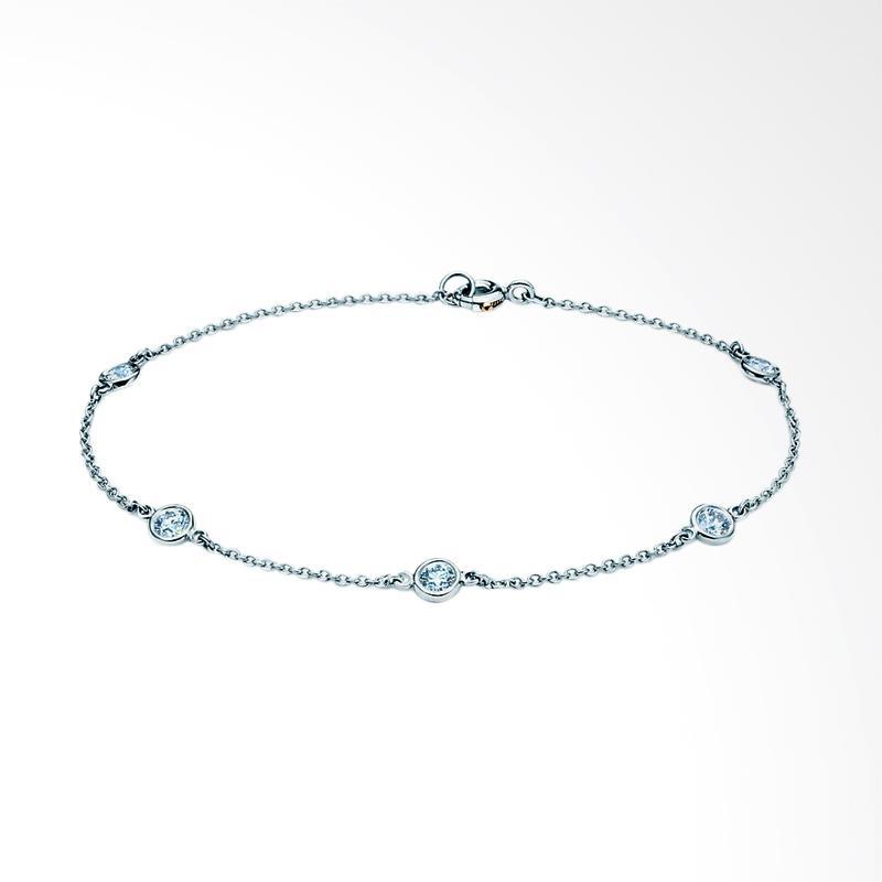harga Lavish BR17104 Gelang Berlian Emas Putih [18K] Blibli.com