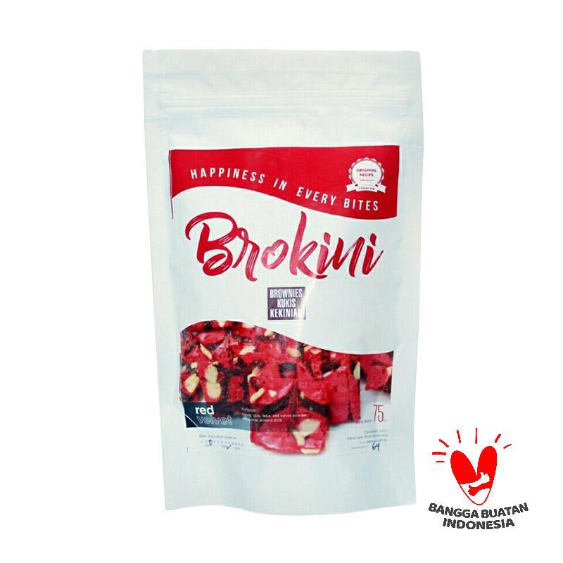 BROKINI Red Velvet Brownies Kering