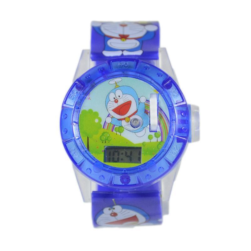 harga Doraemon DnB COLLECTION Jam Tangan Projector - Biru Tua Blibli.com