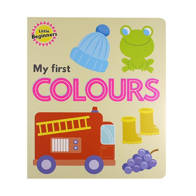 Lake Press Little Beginners My First Colours Buku Anak