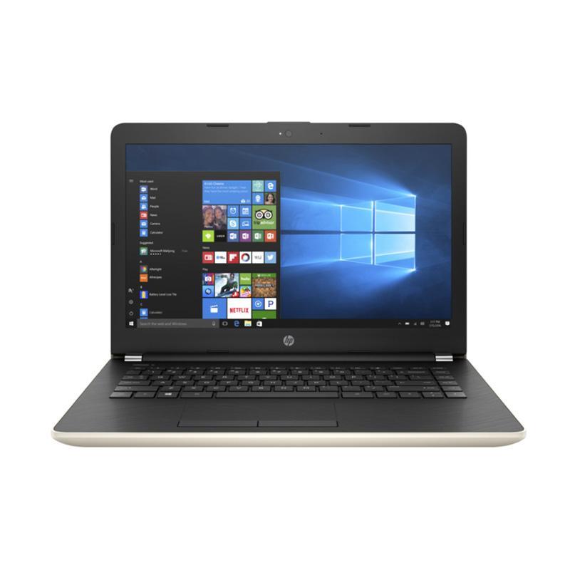 harga HP 14-BS129TX Notebook - Gold [Intel Core i5-8250U/4GB RAM/1TB HDD/14 Inch/Win10] Blibli.com