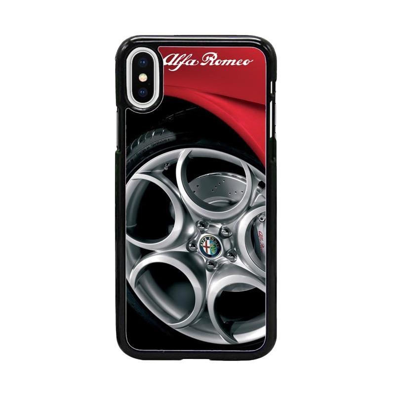 Acc Hp Alfa Romeo 4C W4930 Custom Casing for iPhone X