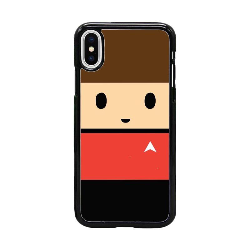 Acc Hp Scotty Star Trek Beyond W5063 Custom Casing for iPhone X