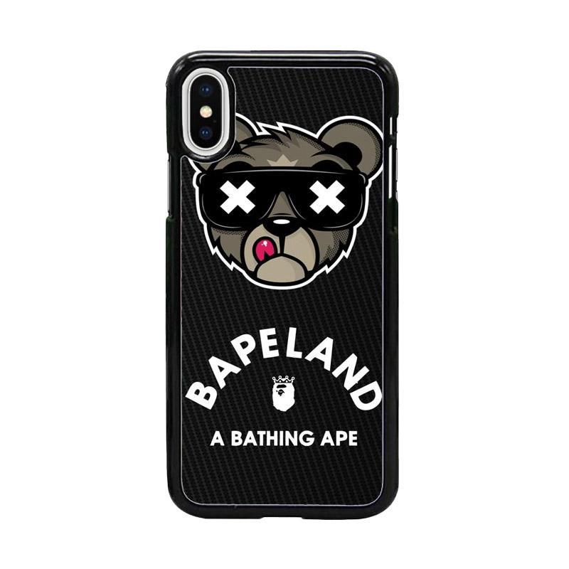 Acc Hp Bapeland A Bathing Ape W5106 Custom Casing for Iphone X