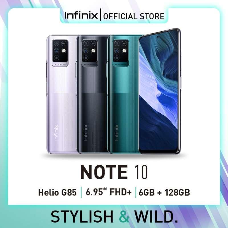 Infinix Note 10 Smartphone [6/128GB/D]