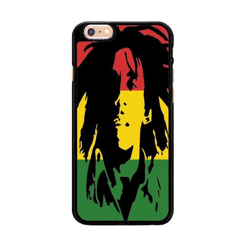 harga Flazzstore Reggae Legend Bob Marley Rasta V1647 Premium Casing for iPhone 6 Plus or iPhone 6S Plus Blibli.com