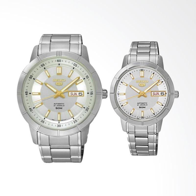 Jual jam tangan couple seiko cek harga di PriceArea.com