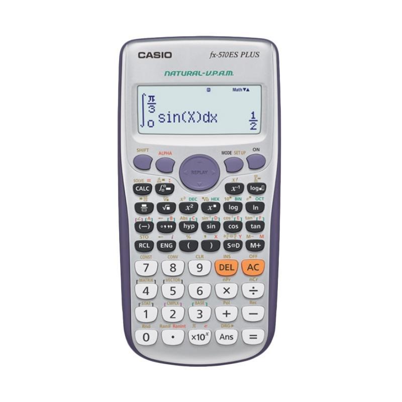 harga CASIO FX-570ES Plus Scientific Calculator Blibli.com