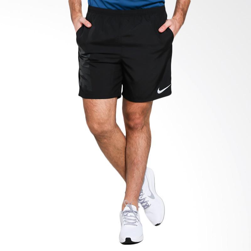 harga NIKE Men Running Dry Short 7In Run Celana Olahraga Pria [908783-010] Blibli.com