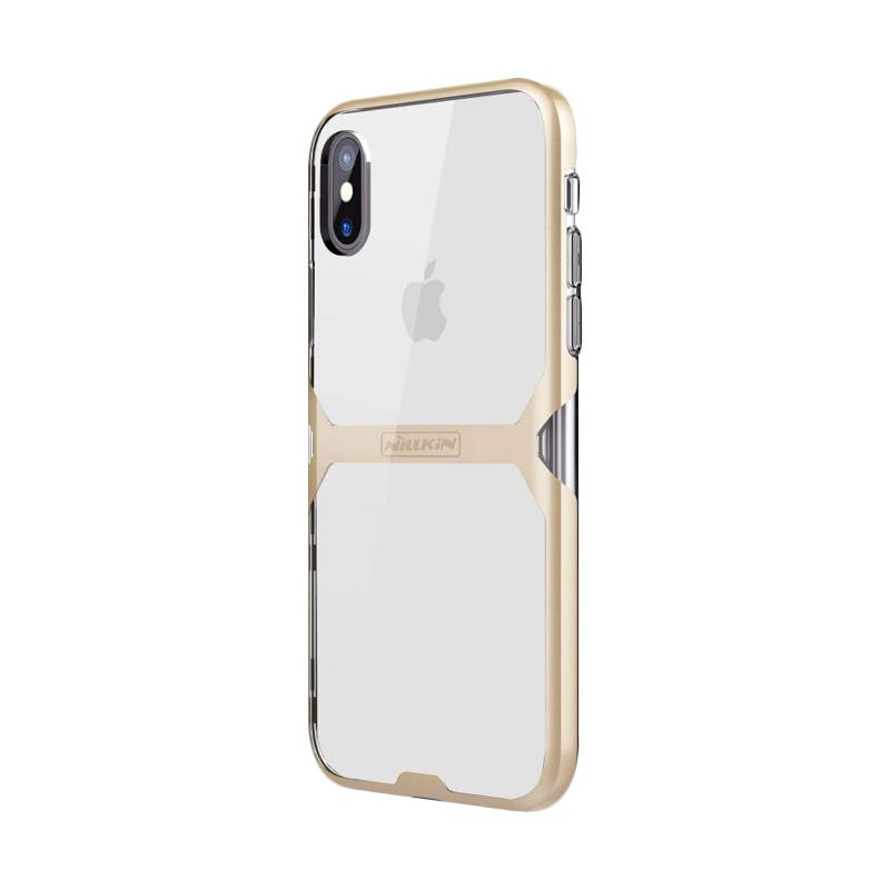 Nillkin Crystal Tpu Casing For Iphone X Gold