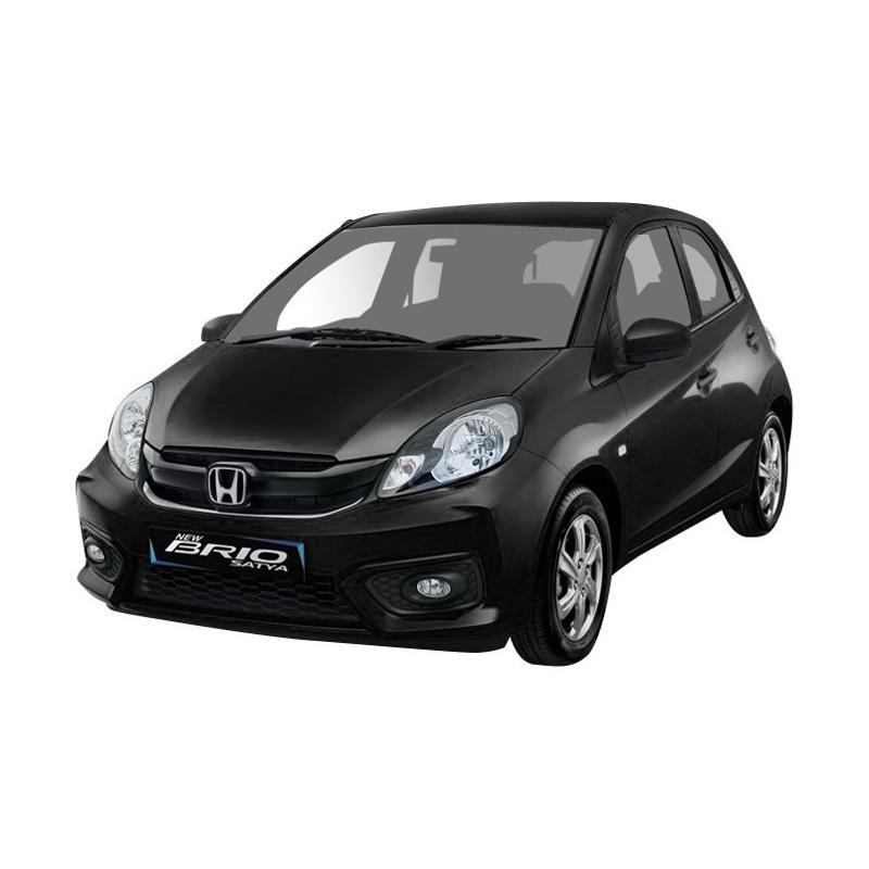 Honda Brio Satya 1 2 S Mobil Crystal Black Uang Muka Kredit Bidbox