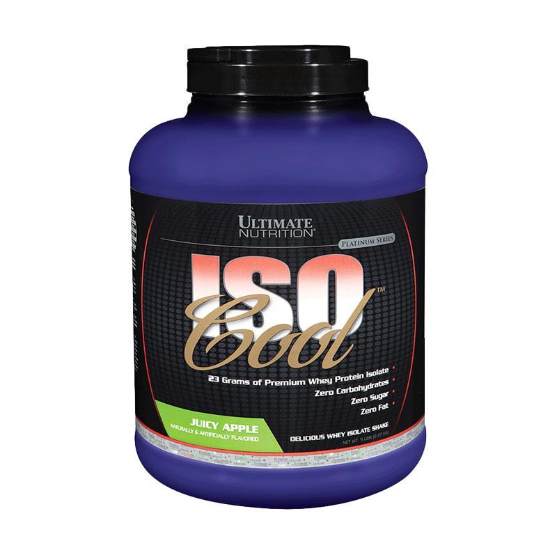 Ultimate Nutrition Iso Cool Apel Suplemen Kesehatan [5 lb]