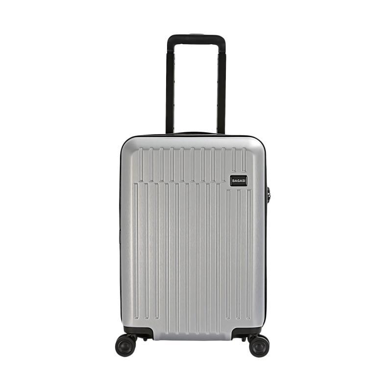 KATF Bagasi Talaga Hardcase Koper Silver Small 21 Inch